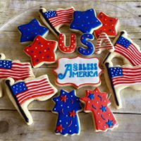 July 4th cookie decorating class