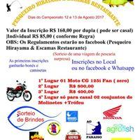 7 Mega Torneio de Pesca Esportiva 2017