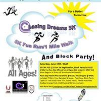 Chasing Dreams 5K RunWalk