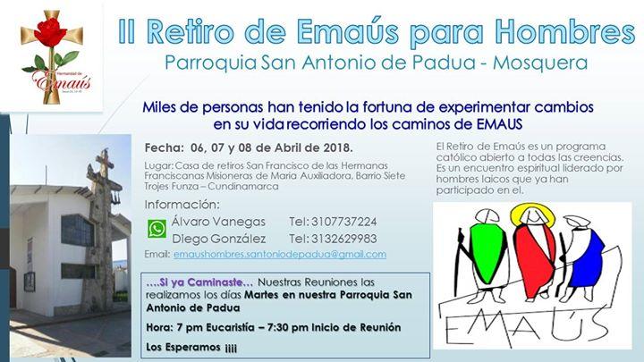 II Retiro de Emas para Hombres Parroquia San Antonio de Padua