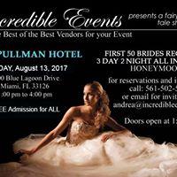 Incredible Events Bridal Showcase