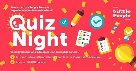 Quiz Caritabil Little People Bucureti