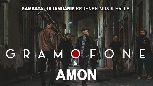 Gramofone & Amon  19 ianuarie  Kruhnen Musik Halle Brasov