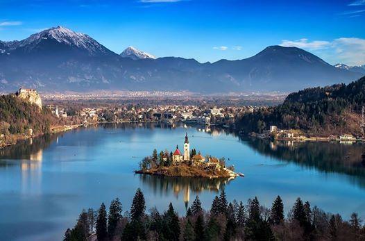 Orta Avrupann Mcevheri Slovenya