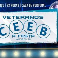 Veteranos CEEB - A Festa Anos 80 e 90