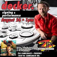 Decker. at Zia Records