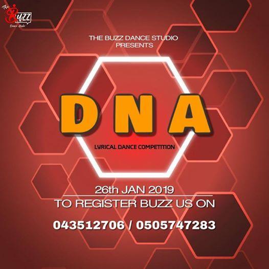 DNA Lyrical Dance Competition - Season 1