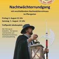 Nachtwchterrundgang Ockstadt - 5. August 2017