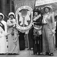 Suffragists From the Stage