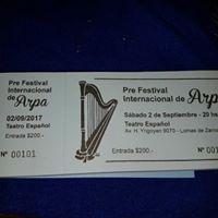 Pre Festival De Arpas 2 De Septiembre
