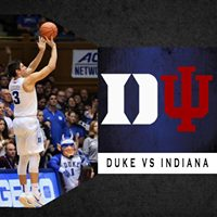 First Mens Basketball Hoops Watch 2017-18 Duke vs. Indiana