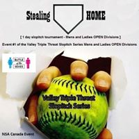 Stealing HOME - NSA Canada - Slopitch Tournament