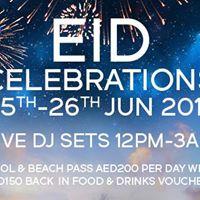 Zero Gravity Eid Celebrations 25th26th June (TBC)