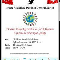23 Nisan Ulusal Egemenlik Ve ocuk Bayram enlii
