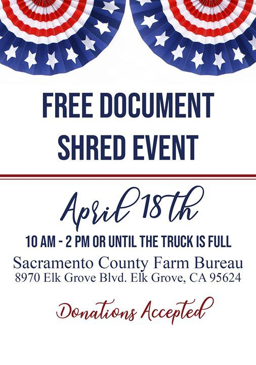Free Document Shred Event