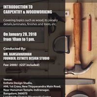 Introduction Workshop on Carpentry &amp Woodworking