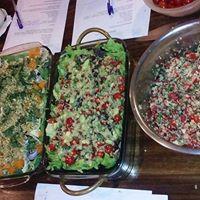 Taller de germinados ensaladas completas aderezos naturales