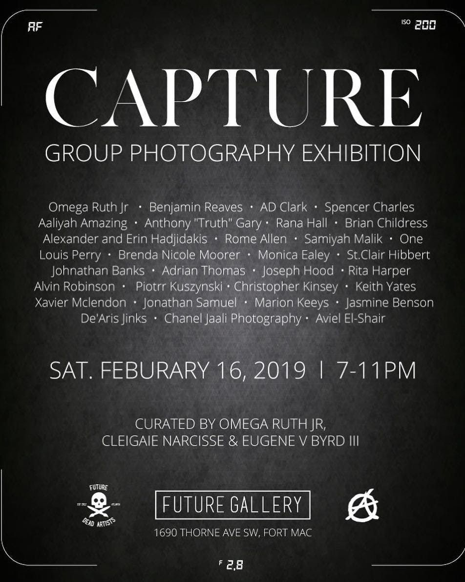 CAPTURE A Group Photography Exhibit