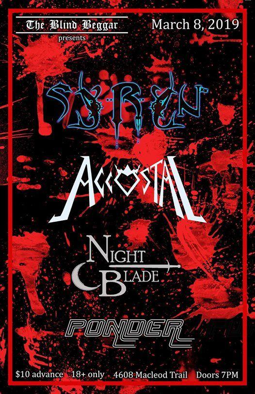 Syryn Accostal  Nightblade & Ponder