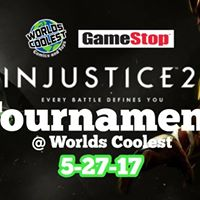 Free Injustice 2 Tournament at Worlds Coolest