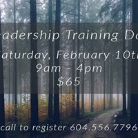 Leadership Training Day Retreat