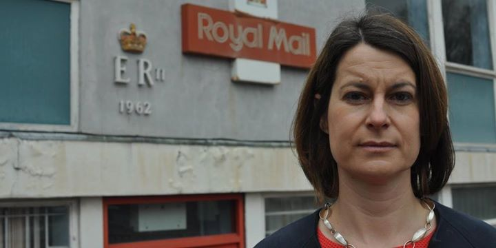 West Norwood Royal Mail Delivery Office - Protest