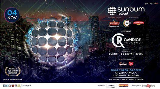 Sunburn Reload with Candice Redding - LudhianaPunjab