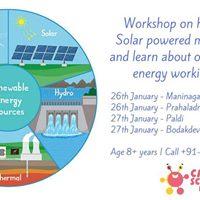 Renewable Energy  DIY Solar mobile charger - Bodakdev