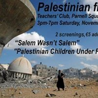Two documentaries from Palestine not to be missed