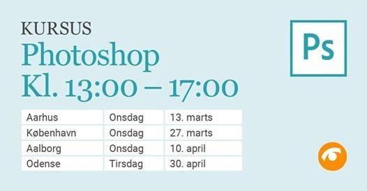 Photoshop-kursus i Aalborg