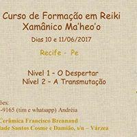Formao Em Reiki Xamnico Maheoo Em Recife