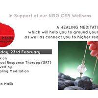 Talk on SRT &amp Healing Meditation w Sujata Malik