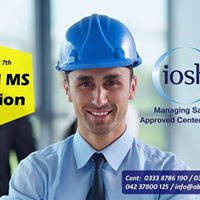 IOSH Managing Safely Session - 25th August 2017