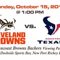 Browns vs Texans