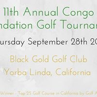 11th Annual Congo Foundation Golf Tournament