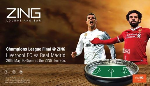 Champions League Final at Zing
