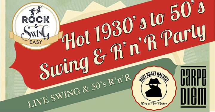 Hot Swing & 50s RocknRoll ROOF TOP Party
