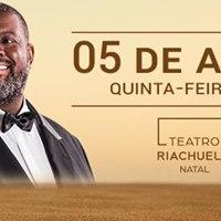 Pricles no Teatro Riachuelo - NatalRN