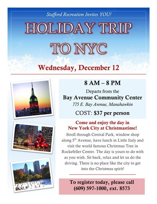 Holiday Trip to NYC