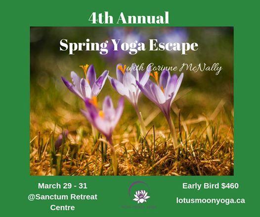 4th Annual Spring Yoga Escape