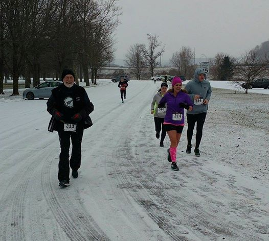 Tom Hamlin January Freeze 10K Race 3
