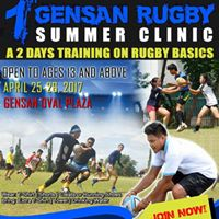 1st Rugby Summer Clinic