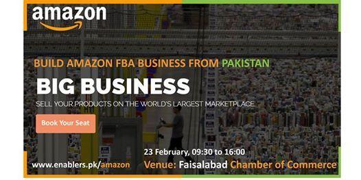 Build Amazon FBA Business from Pakistan