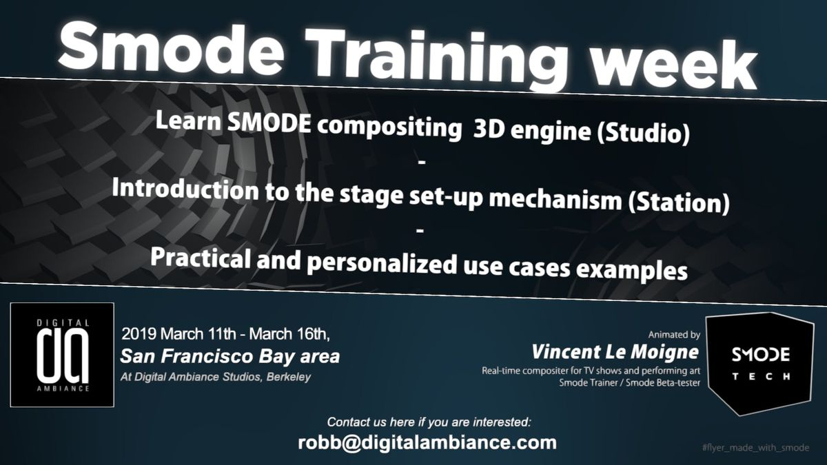 SMode Master Classes