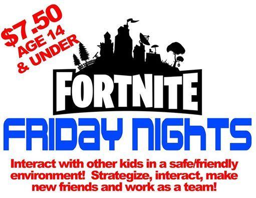 SHQ Fortnite Fridays Kids Party just $7 50 at SECRET