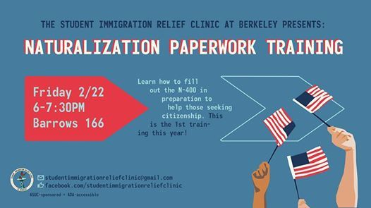 Naturalization Paperwork Training