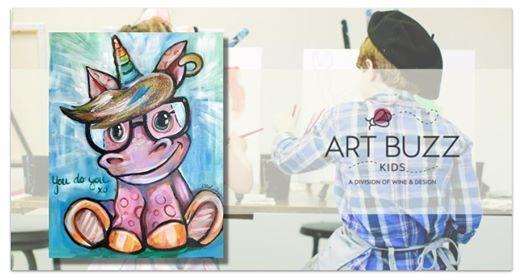 Art Buzz Kids Class You Do You At Wine Design Stafford Va