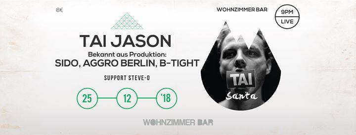 TAI JASON | 25.12 Santa @woziba at Wohnzimmer Bar, Traunstein