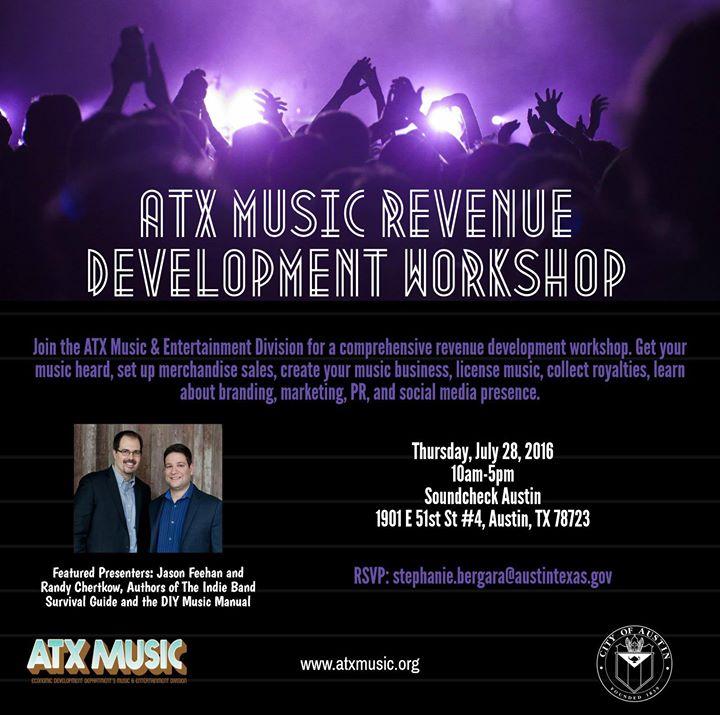 ATX Music Revenue Development Workshop