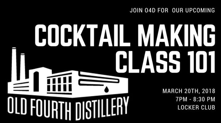 O4D Cocktail Making Class 101